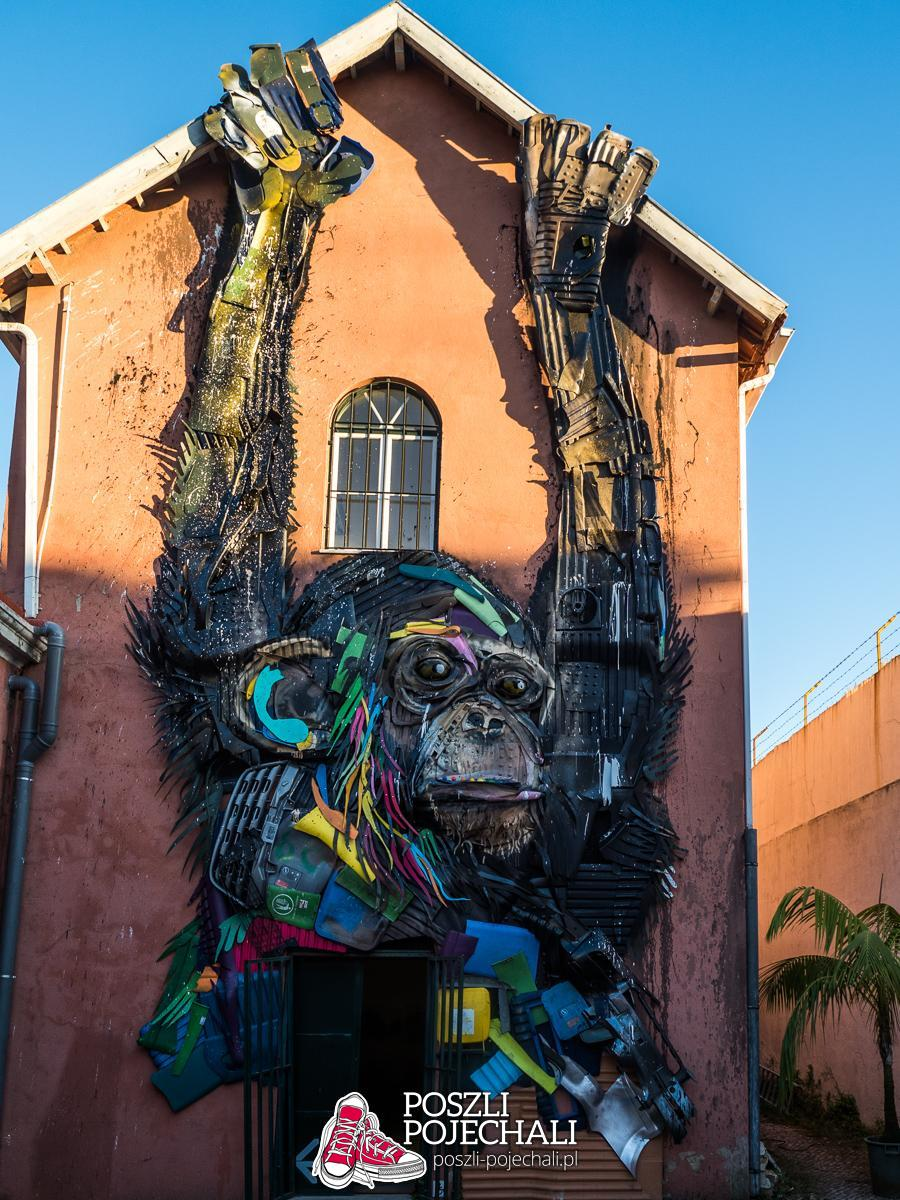 Attero by Bordalo II - Lizbona